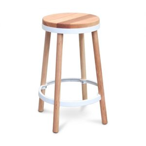 Ashley Stool White